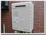 ノーリツのガス給湯器に交換GT-2412SAWX→GT-2450SAWX BL