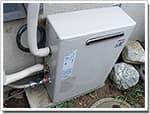 リンナイのガス給湯器に交換RUX-V2406G→RUX-V2016G-E