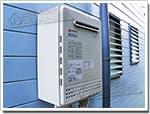 ノーリツのガス給湯器に交換GT-2000SAW→GT-C2052SAWX BL