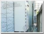 ノーリツのガス給湯器に交換GT-2400AWX→GT-2450AWX BL