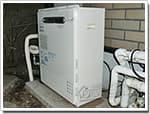ノーリツのガス給湯器に交換RGE24KS3→GT-C2452SARX BL