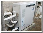 リンナイのガス給湯器に交換GJ-16R5R→RUF-A1610AG(A)