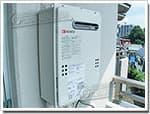 ノーリツのガス給湯器に交換GQ-202W→GQ-2039WS