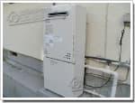 ノーリツのガス給湯器に交換GT-2428AWX→GT-C2452AWX-2 BL