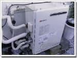 ノーリツのガス給湯器に交換NR-A816RS-R→GT-1650SARX-2 BL
