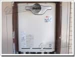 リンナイのガス給湯器に交換RUF-1618T→RUF-A1610SAT(A)