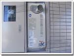 リンナイのガス給湯器に交換OURB-161DA-T→RUF-VS1615AT-80