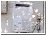 ノーリツのガス給湯器に交換GQ-2416WXA→GQ-2437WS