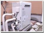 ノーリツのガス給湯器に交換GT-2427SARX→GT-C2452SARX-2 BL