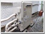 ノーリツのガス給湯器に交換GT-1610ARX→GT-C2052ARX-2 BL