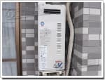 リンナイのガス給湯器に交換GT-168AW→RUF-VS1615AW