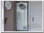 リンナイのガス給湯器に交換RUF-VS2001SAT→RUF-VS2005AT