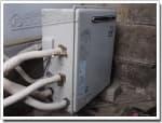リンナイのガス給湯器に交換GT-162R→RUF-A1610SAG(A)