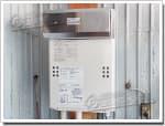 ノーリツのガス給湯器に交換GQ-1612WE→GQ-1639WS