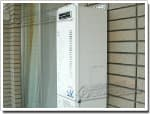 リンナイのガス給湯器に交換OURB-1651SAQ→RUF-VS1615SAW