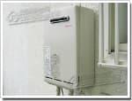 リンナイのガス給湯器に交換GW-1612RY→RUX-A1611W-E