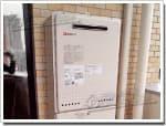 ノーリツのガス給湯器に交換GT-2427SAWX→GT-2450SAWX-2 BL