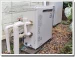 リンナイのガス給湯器に交換GFK-2012A→RFS-A2003SA