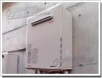 リンナイのガス給湯器に交換RGE24KA1-S→RUF-A2005SAW(A)