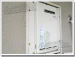 リンナイのガス給湯器に交換RUX-V1610W-E→RUX-A1610W-E