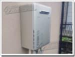 リンナイのガス給湯器に交換GX-204AW→RUF-E2008AW(A)