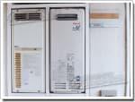 リンナイのガス給湯器に交換OUR-161→RUX-VS1616W-E