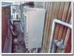 リンナイのガス給湯器に交換RGE16KS2-SA→RUF-A1615AW(A)