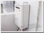 リンナイのガス給湯器に交換AD-246RA-Q→RUX-A1611W-E