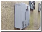 パーパスのガス給湯器に交換GX-244AW→GX-H2400AW