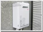 リンナイのガス給湯器に交換GQ-162W→RUX-A1611W-E