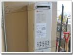 ノーリツのガス給湯器に交換GT-2003SAW→GT-2053SAWX-2 BL