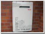 リンナイのガス給湯器に交換GQ-166W→RUX-A1611W-E