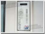 リンナイのガス給湯器に交換GT-2003SAW→RUF-VS2005SAW