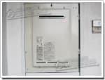 リンナイのガス給湯器に交換RUX-2018W-E→RUX-A2010W-E