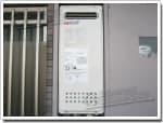ノーリツのガス給湯器に交換GT-2003AW→GT-2053AWX-2 BL