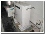 ノーリツのガス給湯器に交換GT-2416ARX→GT-C2052ARX-2 BL