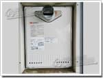 ノーリツのガス給湯器に交換GT-2422SAWX-T→GT-2450SAWX-T-2 BL