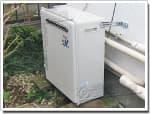 リンナイのガス給湯器に交換T-248SAR→RUF-A2400SAG(A)