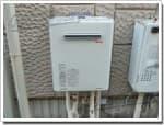 リンナイのガス給湯器に交換RGE24KA10SA→RUF-A2405AW(A)