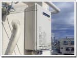リンナイのガス給湯器に交換RUX-V1610W-E→RUX-A1611W-E