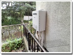 ノーリツのガス給湯器に交換TP-SP206SZR→GT-C206AWX BL