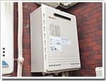 ノーリツのガス給湯器に交換GT-165AWX-1→GT-1650AWX BL